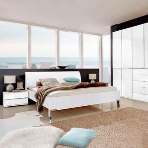 Schlafzimmer-Set »Shanghai«, weiß, mit Schubkästen, WIEMANN