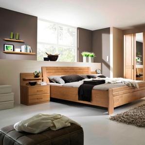 STEFFEN Schlafzimmer-Set , mit 5-trg. Schrank, Rauch