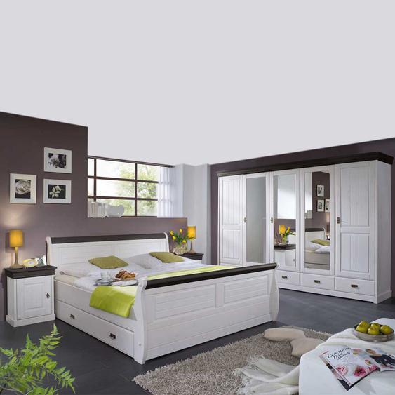 Schlafzimmerm�bel und Wei� Braun (4-teilig)