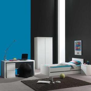 Schlafzimmerm�bel Set in Wei� lackiert komplett (5-teilig)