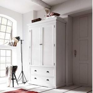 Schlafzimmerschrank in Weiß Landhaus Design