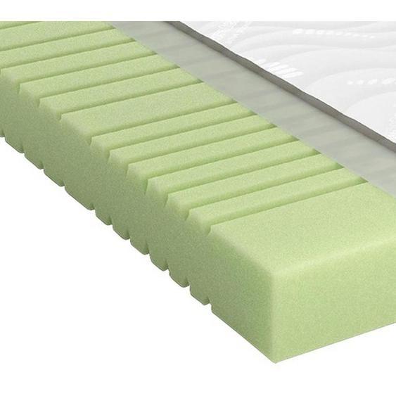 Schlaraffia Kaltschaummatratze Höhe ca. 20 cm , Weiß , Textil , H2=mittel bis ca.80kg , 80 cm