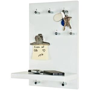 Schlüsselboard | weiß | 25 cm | 40 cm | 17 cm |