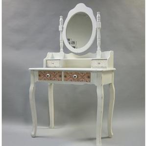 Schminktisch Paisley mit Spiegel