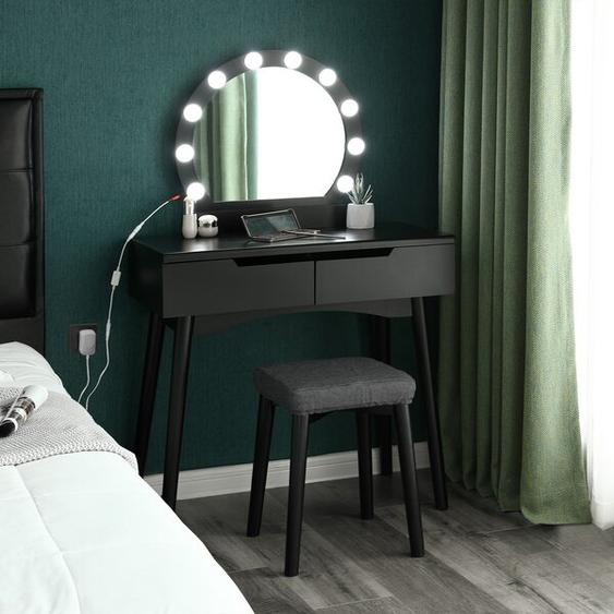 Schminktisch-Set Andi mit Spiegel