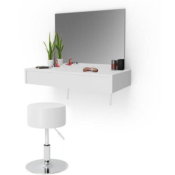 Schminktisch-Set Cabott mit Spiegel