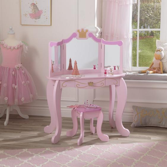 Schminktisch-Set Princess mit Spiegel