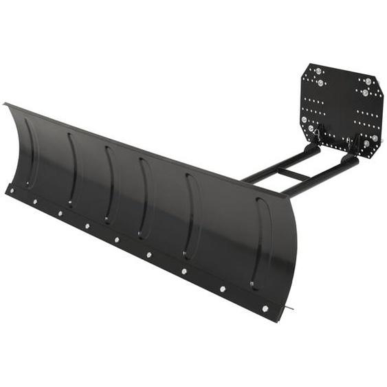 Schneepflug zur ATV-Montage 150 x 38 cm Schwarz