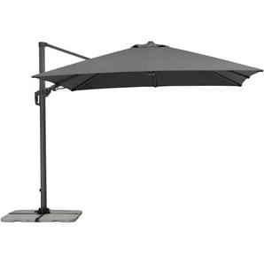 Schneider Schirme Ampelschirm, Anthrazit, Polyester