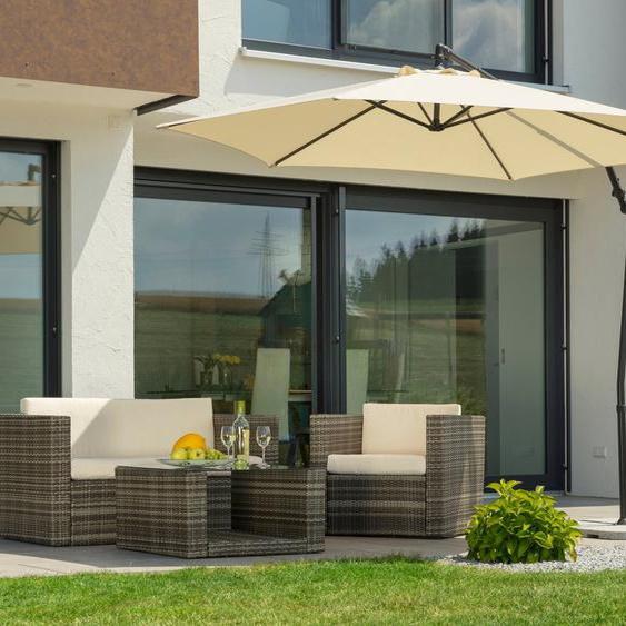 Schneider Schirme Ampelschirm »Genua«, mit Schirmständer, ohne Wegeplatten
