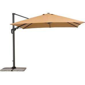 Schneider Schirme Ampelschirm ,Beige ,Polyester