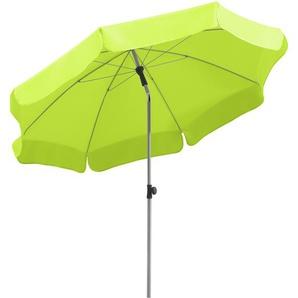 Schneider Schirme Balkonschirm ,Grün ,Polyester