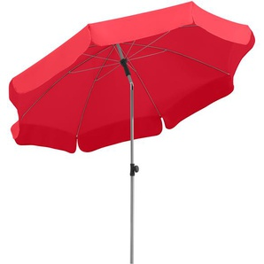 Schneider Schirme Balkonschirm ,rot ,Polyester