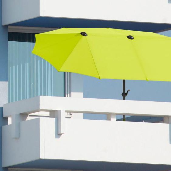 Schneider Schirme Balkonschirm »Salerno«, LxB: 300x150 cm, Inkl. Schutzhülle, ohne Schirmständer