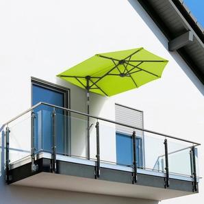 Schneider Schirme Balkonschirm »Salerno mezzo«, LxB: 150x150 cm, mit Schutzhülle, ohne Schirmständer