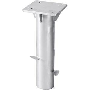 Schneider Schirme Bodenplatte Universal ,silber ,Stahl