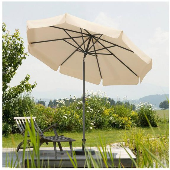 Schneider Schirme Marktschirm »Orlando«, Durchmesser 270 cm, natur, rund, ohne Schirmständer