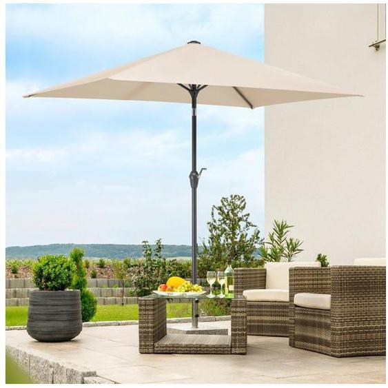 Schneider Schirme Rechteckschirm »Bilbao«, LxB: 130x210 cm, ohne Schirmständer