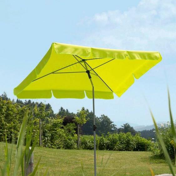 Schneider Schirme Rechteckschirm »Locarno«, LxB: 180x120 cm, abknickbar, ohne Schirmständer