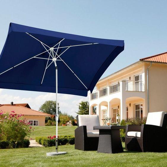 Schneider Schirme Rechteckschirm »Oslo«, LxB: 300x200 cm, abknickbar, ohne Schirmständer