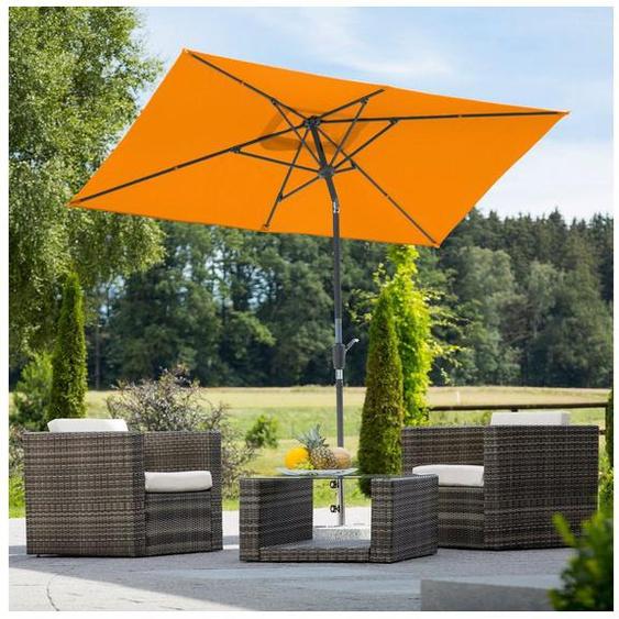 Schneider Schirme Rechteckschirm »Tunis«, LxB: 270x150 cm, abknickbar, ohne Schirmständer