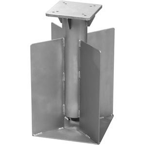 Schneider Schirme Universal-Bodenanker ,silber ,Stahl