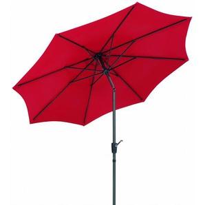 Schneider Sonnenschirm Harlem Rot Ø 270 cm