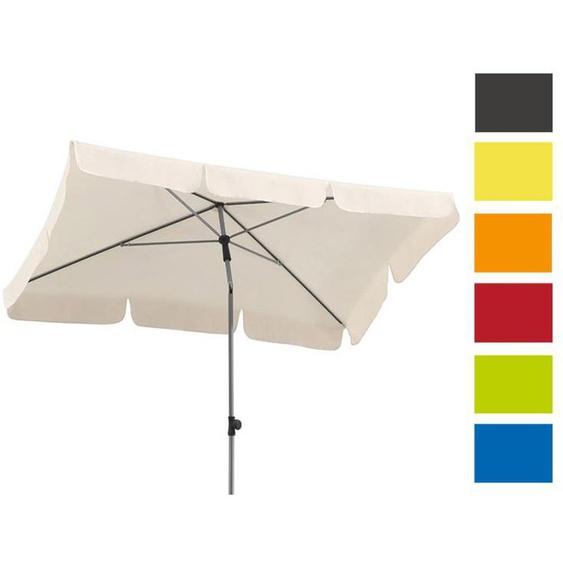 Schneider Sonnenschirm »Locarno«, rechteckig, 50+ UV-Schutz, 2-teiliger Stock, mit Knicker