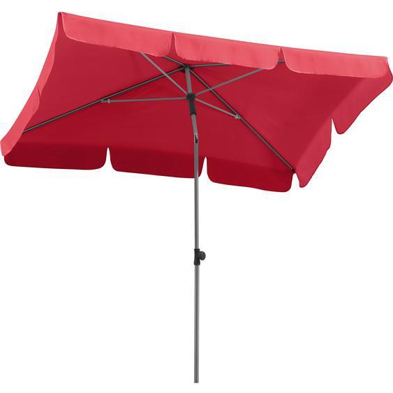 Bolero viereckiger Sonnenschirm rot 2,5m Schirm Schirme