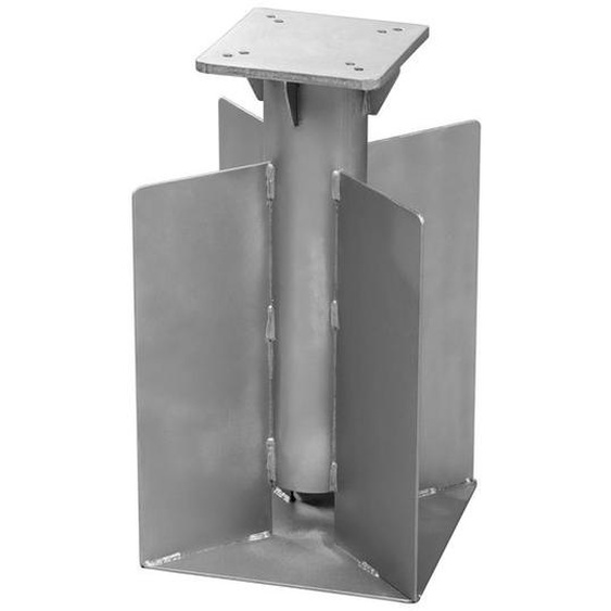Schneider Universal-Bodenanker, zum Einbetonieren, Verzinkt, 25 x 45 x 25 cm