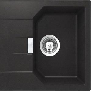 SCHOCK Granitspüle »Lucca«, ohne Restebecken, 64 x 51 cm