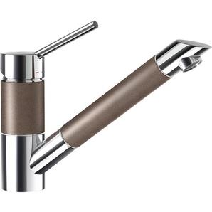Schock Küchenarmatur »Cannes«, mit Schlauchbrause, Nanogranit, Hochdruck