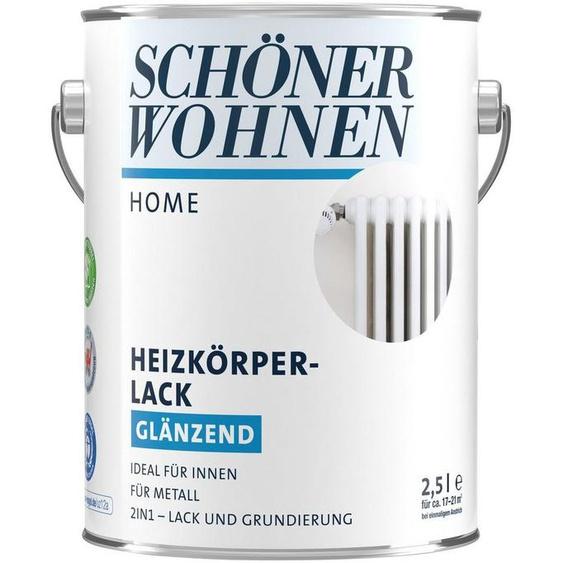 SCHÖNER WOHNEN FARBE Lack »Home Heizkörperlack«, glänzend, 2500 ml, weiß