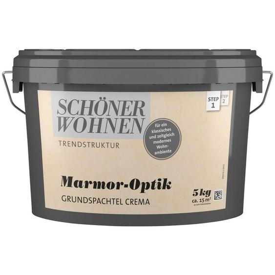SCHÖNER WOHNEN-Kollektion Spachtelmasse »Marmoroptik Grundspachtel crema«, 5 kg
