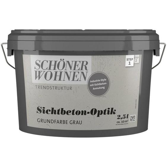 SCHÖNER WOHNEN-Kollektion Grundierfarbe »Sichtbeton-Optik Grundfarbe grau«