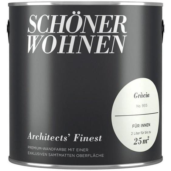 SCHÖNER WOHNEN-Kollektion Wand- und Deckenfarbe »Architects Finest - Gràcia«, 2 l
