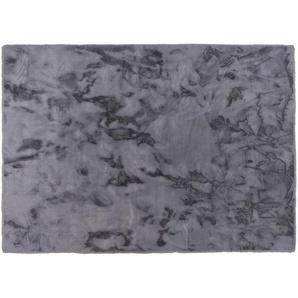 SCHÖNER WOHNEN Hochflorteppich  Tender ¦ grau ¦ 100% Polyester, Synthethische Fasern ¦ Maße (cm): B: 160 Teppiche  Wohnteppiche  Hochflorteppiche » Höffner
