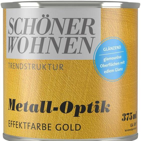 SCHÖNER WOHNEN-Kollektion Wandfarbe »Trendstruktur Metall-Optik«, glänzend