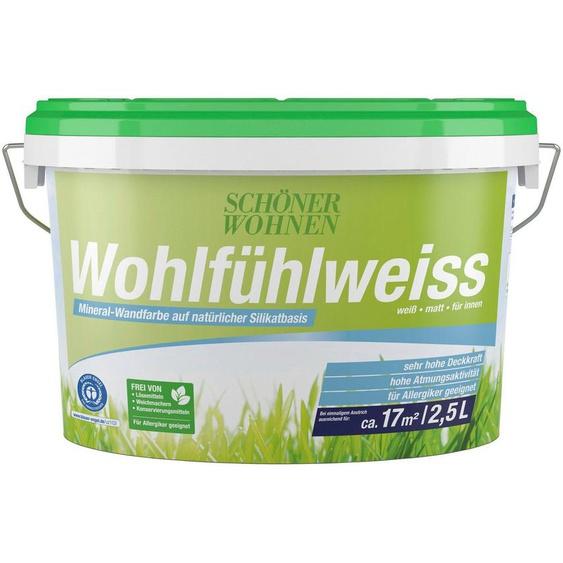 SCHÖNER WOHNEN-Kollektion Wand- und Deckenfarbe »Wohlfühlweiss«, matt