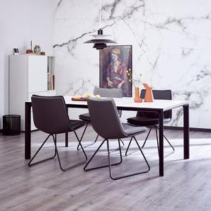 Schöner Wohnen Esstisch Esstisch, Weiß, Keramik