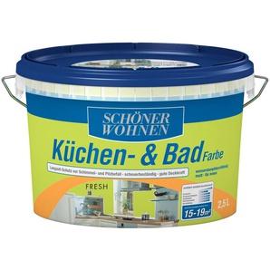 SCHÖNER WOHNEN FARBE Feuchtraumfarbe »Küche/Badfarbe, fresh«, 2,5 l
