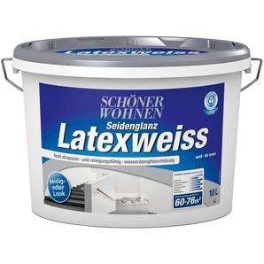 SCHÖNER WOHNEN FARBE Latexfarbe »Latexweiß 10,0L DIN EN 13 300«