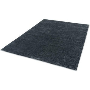 SCHÖNER WOHNEN-Kollektion Teppich Aura, rechteckig, 15 mm Höhe, seidige Viskose, Wohnzimmer B/L: 170 cm x 240 cm, 1 St. grau Esszimmerteppiche Teppiche nach Räumen