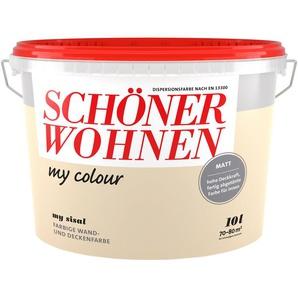 SCHÖNER WOHNEN FARBE Wand- und Deckenfarbe »my colour - my sisal«, matt, 10 l