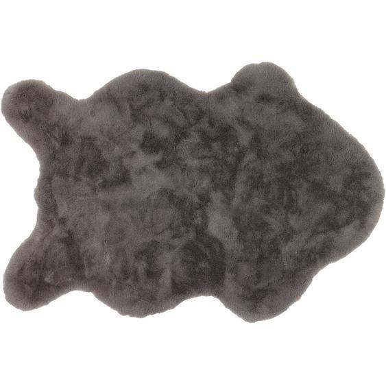 Schöner Wohnen Kunstfell Tender Shape Grau 60 cm x 90 cm