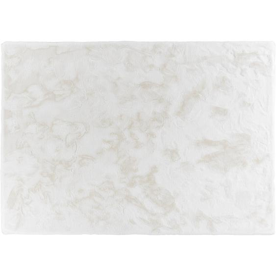 Schöner Wohnen Kunstfell Tender Weiß 80 cm x 150 cm