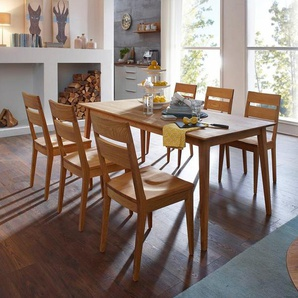 SCHÖSSWENDER 4-Fußstuhl »Filippa« aus FSC®-zertifiziertes Massivholz