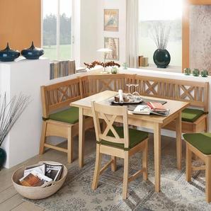 SCHÖSSWENDER Eckbankgruppe , grün, zeitloses Design, »Bodensee«, , , FSC®-zertifiziert