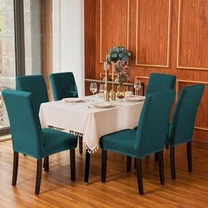 Schonbezug-Set für Esszimmerstühle aus Jacquard