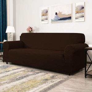 Schonbezug Rhombus Plaid für Sofas aus Polyestermischung